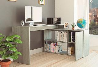 Escritorio Office 8, Ceniza