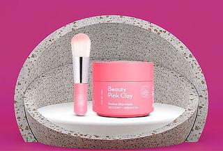 Mascarilla Exfoliante Beauty Pink Clay