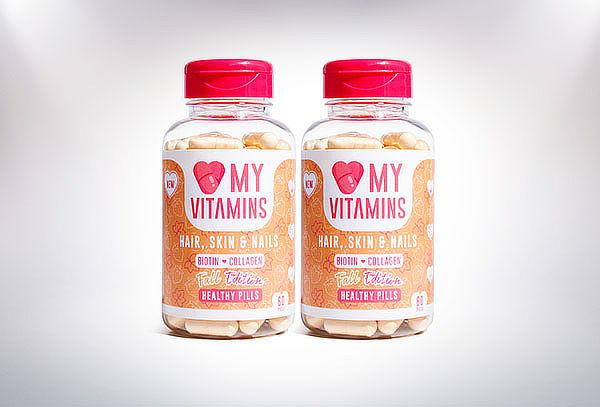 Love my Vitamins, Hair, skin & Nails fall edition
