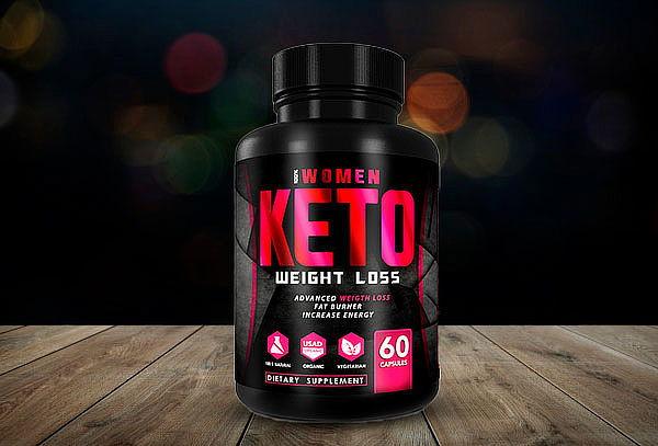 Keto weight loss Woman