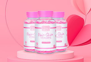 Cápsulas Hair + Skin Vitamins
