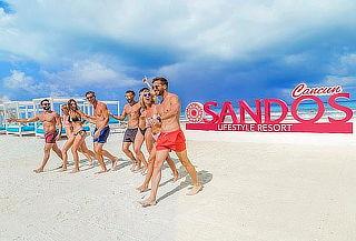 Hospedaje en Sandos Cancún 5D/4N+ Traslado