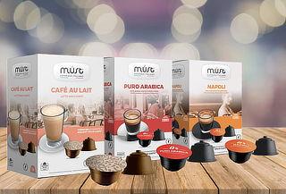 Pack 48 Capsulas Café Compatible con Dolce Gusto