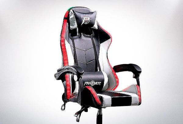 Silla Panther Gamer Reclinable RGB LED.