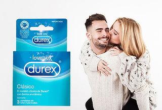 Pack 18 Preservativos Durex Clásico
