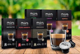 Pack 20 o 50 Capsulas Café Compatible con Nespresso