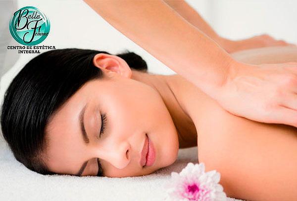 Masaje de relajación anti estrés con descontracturante