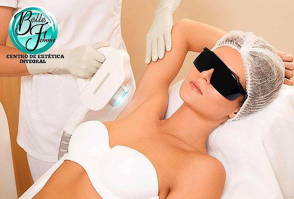 6 Sesiones de depilación láser 808nm,cuerpo completo y más