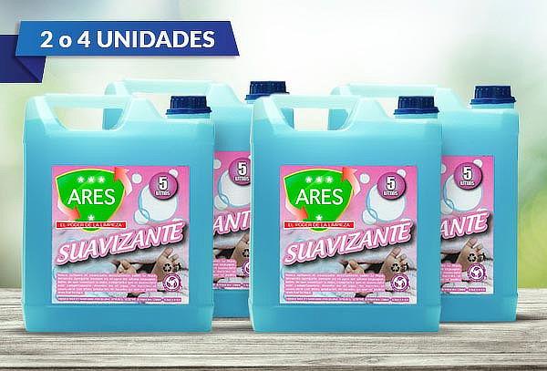Pack de 2 o 4 Suavizante Ares 5 litros
