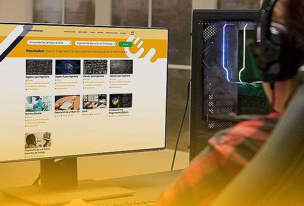 Cursos Online Universitarios de Informática.