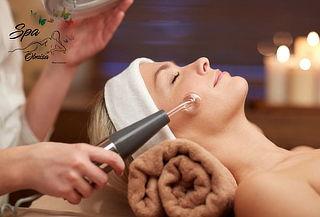 Limpieza Facial con Microdermoabrasión + Alta Frecuencia