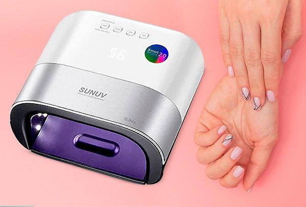 Secador de Uñas 2 en 1 LED UV Manicure Profesional Sun 3
