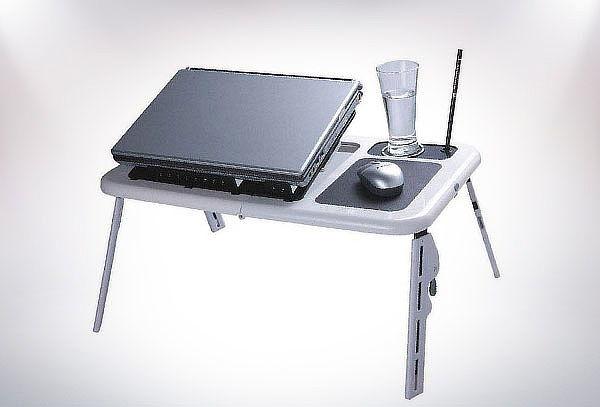 Mesa Plegable para notebook con ventiladores
