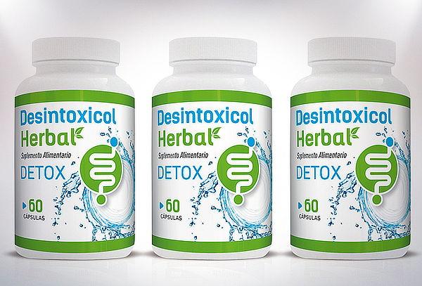 Desintoxicol Herbal Detox 60 o 180 capsulas
