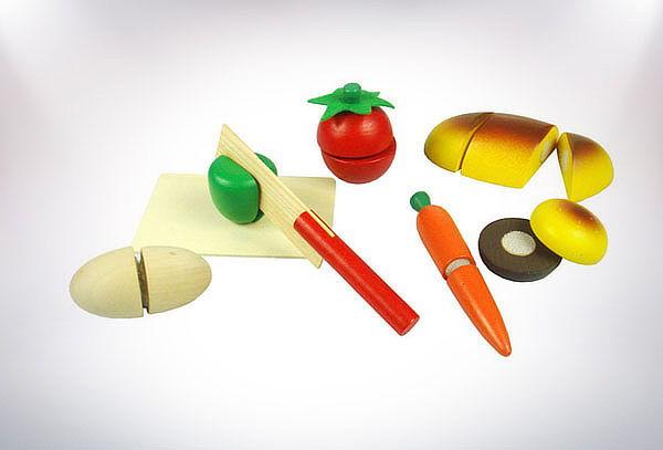 Corta Fruta Infantil de Madera