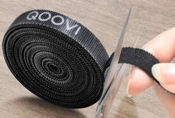 Rollo De Velcro Organizador De Cables 500cm Premium