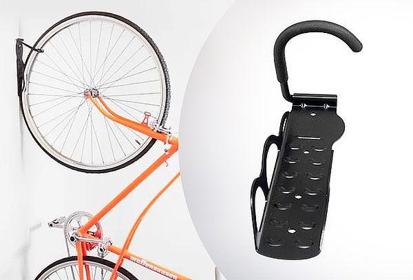 Soporte Gancho Para Bicicleta Pared Muro Colgante + Pernos
