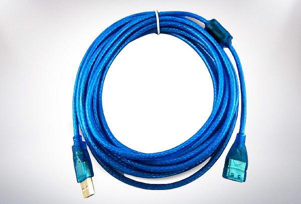 Cable Extensión Usb 2.0 Reforzado Macho A Hembra 500cm