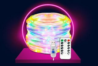 Luces Led Multicolor 5  Metros Control Remoto