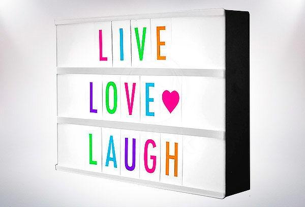 Caja de Luz Decorativa
