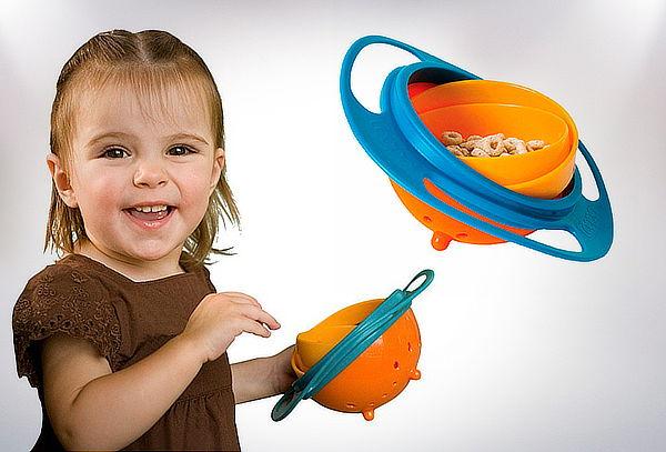 Pack 2 Platos Antivuelco para Bebés