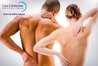 Limpieza de Espalda con Tratamiento Anti Acné en Les Gemeaux