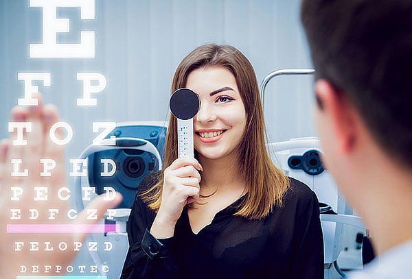 Evaluación Oftalmológica a domicilio + lentes