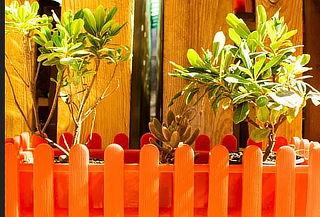 Jardinera Plástica Reciclada 10 Lts