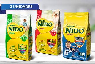 Pack 3 unidades de Nido etapa+ (Softpack 800gramos)