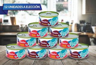 Pack de 12 Choritos 190gr a elección