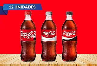 Pack 12 Coca-cola de 591ml