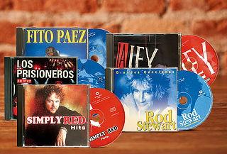 CD's Música de Rock de los 80, a elección