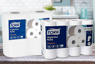 Pack 48 Rollos Premium Tork 20 Mtrs