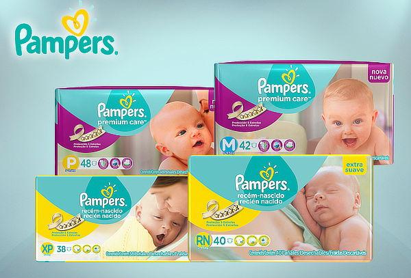 Pañales Pampers® Premium Care