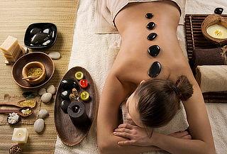 60% Masaje de Relajación Cuerpo Completo, Piedras Calientes!