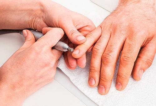Manicure + Exfoliación Para Hombres, Santiago Centro