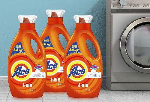 Pack 3 Detergentes  Ace Concentrado 1,9 Litros