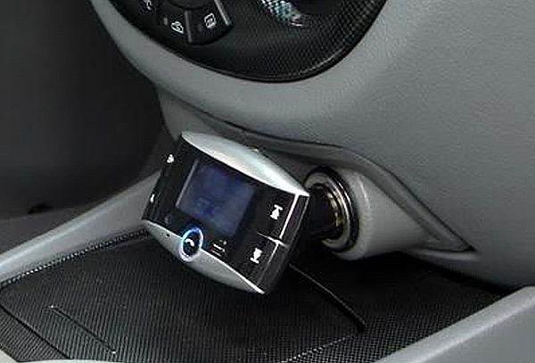 Transmisor Bluetooth Wireless 1,5 Pulgadas LCD