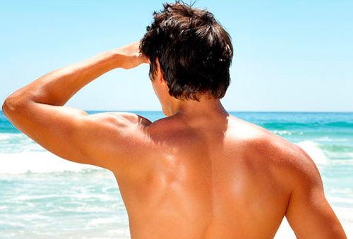 75% Depilación Diodo espalda + hombros, Metro Tobalaba
