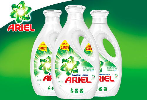 26% Pack de 3 Ariel Power Liquids 1,9 litros.