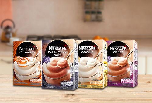 Pack de 4 Cajas de Nescafé Mixes Variedades