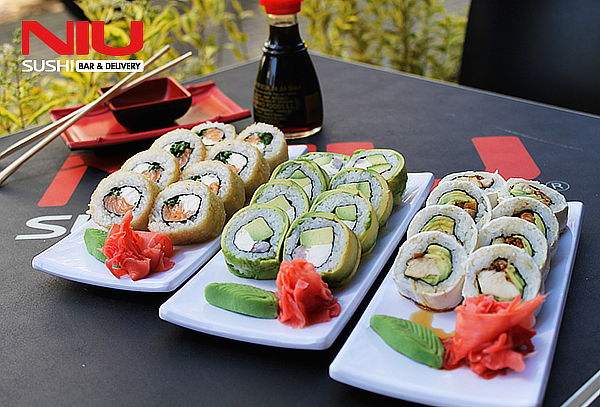Rolls a Sólo $1.900 en Niu Sushi, Santa Isabel