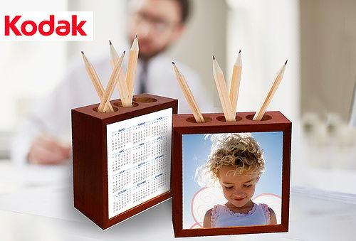 Porta Lápices Personalizado con Calendario y 2 Caras