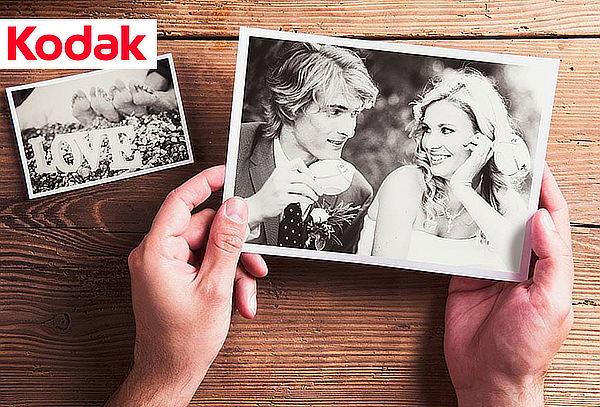 74% 100 Fotos de 10x15 cm o 13x18 cm con Kodak Full color