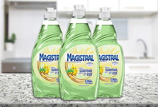 Pack 3 Lavalozas Magistral 750 ml con Aloe Vera
