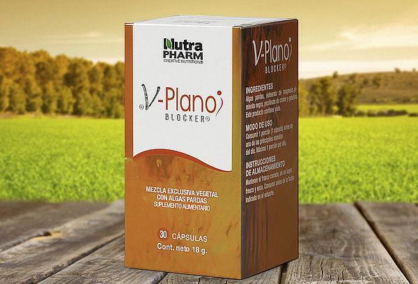 Pack 2 Frascos de Inhibidor  Grasa y Azúcar V Plano Blocker®
