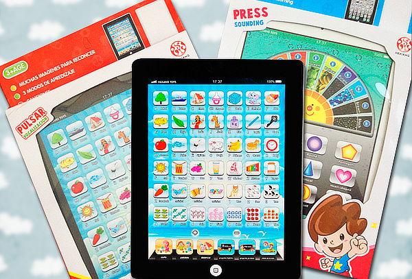 Tablet de juguete para niños