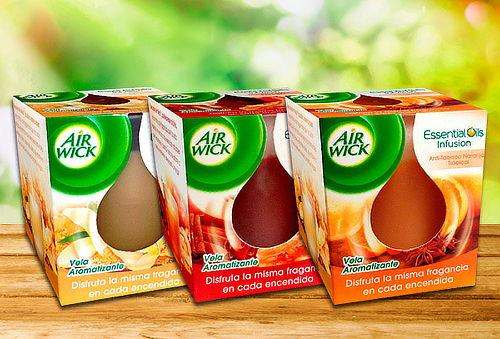 Pack 3 Velas Aromáticas Air Wick®