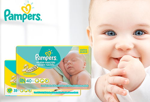 Pack 3 Pañales Pampers® Premium Care RN / XP