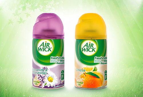 2 Air Wick® Freshmatic Recarga 250 ml lavanda y cítrico
